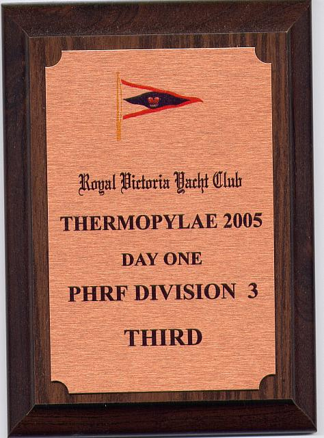 Thermopylae 2005 Day One 3rd