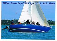 Cross Bay Challenge 2nd Place 2012